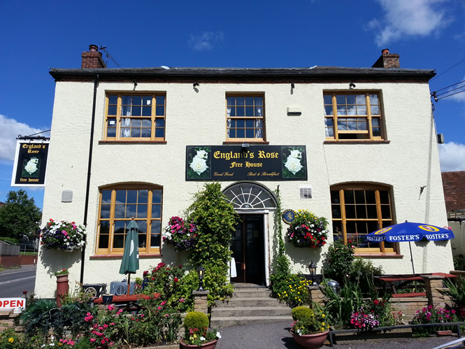 Englands Rose Pub, Postcombe, Oxfordshire
