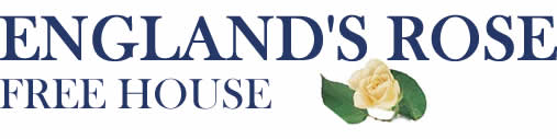 England's Rose Pub, Free House, Restaurant, Bed & Breakfast, Postcombe, Oxfordshire Logo